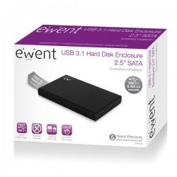 """USB 3.1 Gen1 (USB 3.0) 2.5"""" SATA Harde schijf en SSD behuizing"""