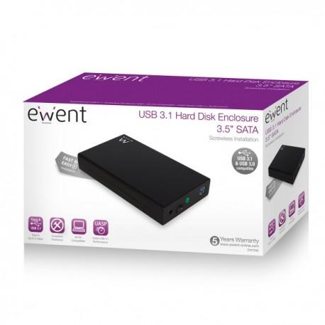 """Ewent USB 3.0 3.5"""" SATA behuizing"""