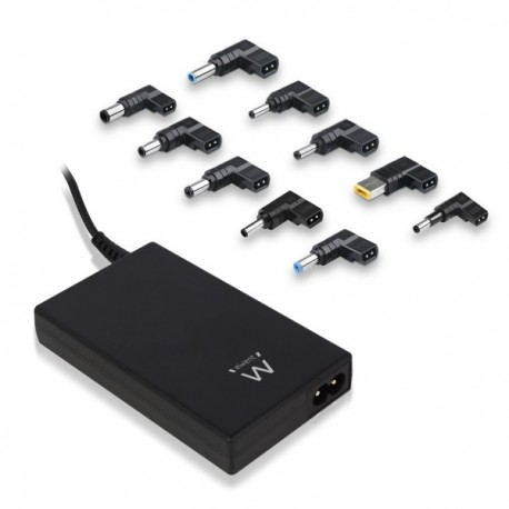 "Ewent universal notebook charger for 17.3"" + 2A USB"
