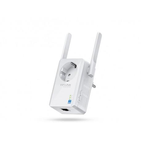 300 Mbps WiFi range extender met geïntegreerd stopcontact